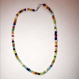 Colorful beaded choker!! Buy two for $14!